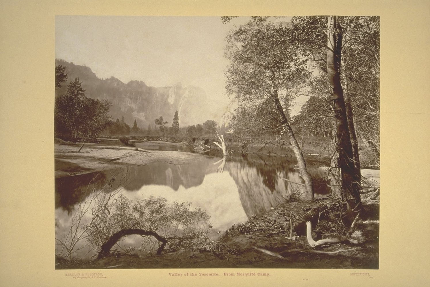 Eadweard Muybridge+Valley of the Yosemite. From Mosquito Camp._2